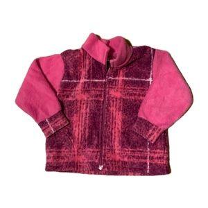Locally Made Fleece Zip-Up Sweater - 1-2T
